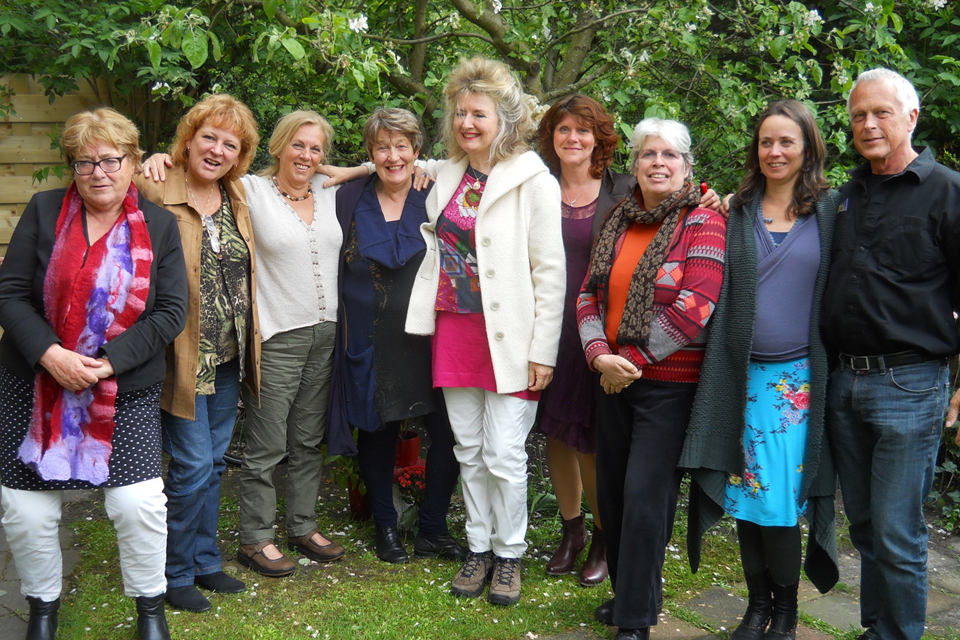 participants in Amstelveen Practical Spirituality