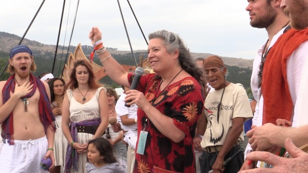 Dr. Jane Anetrini at the Opening Ceremony