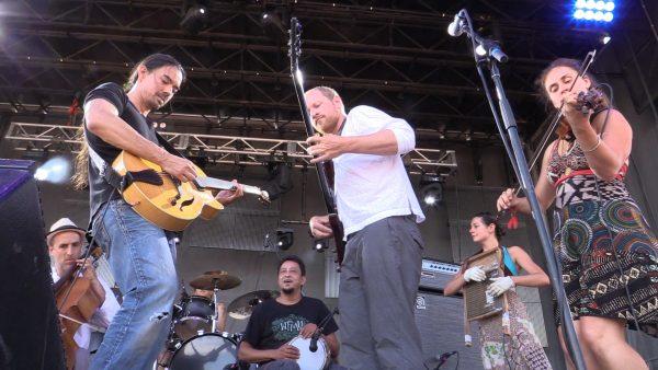 Tierro Lee on Guitar
